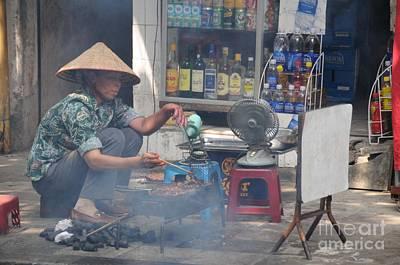 Hanoi Photograph - Street Chef by Marion Galt