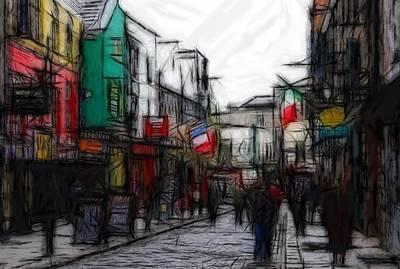 Streetlife Print by Stefan Kuhn
