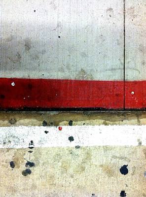 Abstract Photograph - Streets Of New York Abstract Eight by Marlene Burns