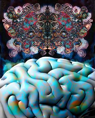 Subconsciousness, Conceptual Image Print by Stephen Wood