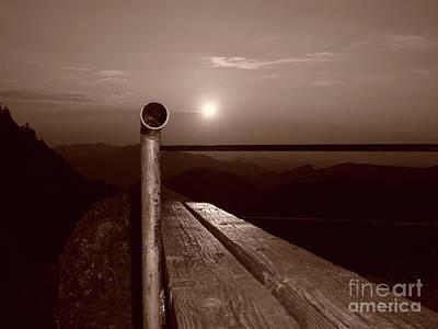 Mountain View Photograph - Submarine On The Mountain by Bruno Santoro