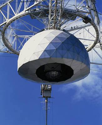 Subreflector Of Upgraded Arecibo Radio Telescope Print by David Parker