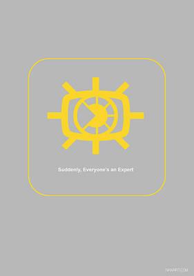 Network Digital Art - Suddenly Everyone Is An Expert by Naxart Studio