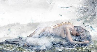 Crocodile Digital Art - Sugary by Ausra Kel