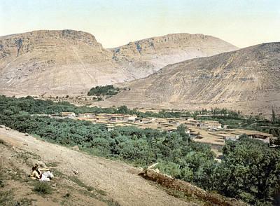 Suk-wady-barada, Holy Land, Jordan Print by Everett