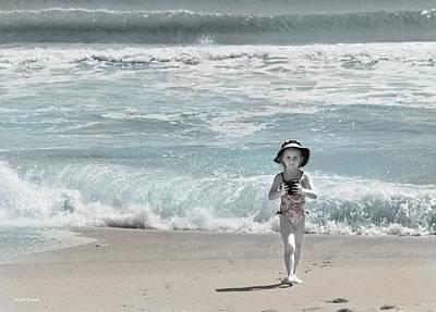 Shore Digital Art - Summer Bliss by Michelle Wiarda