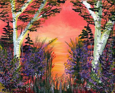 Red Painting - Summer Delight by LeeAnn McLaneGoetz McLaneGoetzStudioLLCcom