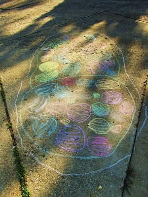 Summer Sidewalk Fun Print by Todd Sherlock