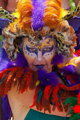 Eyal Photograph - Summer Solstice Parade Santa Barbara 2011. by Eyal Nahmias