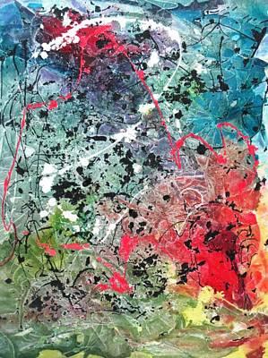 Representative Abstract Mixed Media - Sunday Afternoon by David Raderstorf