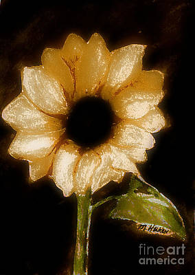 Sunflower Glory Print by Marsha Heiken