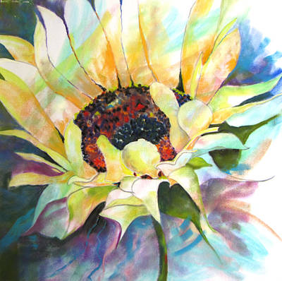 Sunflower IIi Print by Vicki Brevell