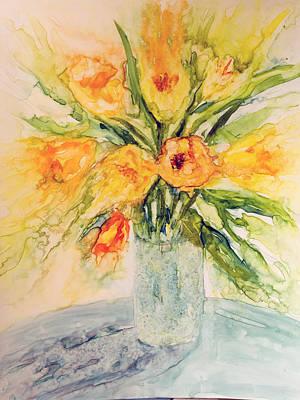 Sunny Bouquet Original by Joanne Smoley