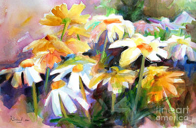 Impressionistic Landscape Painting - Sunnyside Up            by Kathy Braud
