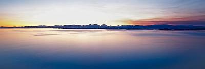 Looking Away From Camera Photograph - Sunrise Above Torridon by Maciej Markiewicz