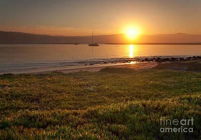 California Photograph - Sunrise At Half Moon Bay by Matt Tilghman