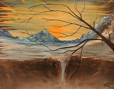 Sunrise End Print by Shadrach Ensor