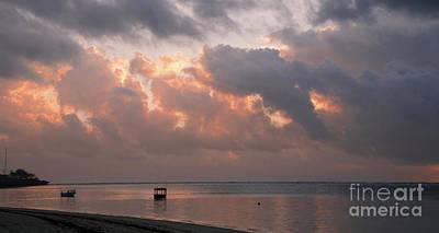 Mombasa Digital Art - Sunrise In Mombasa by Pravine Chester