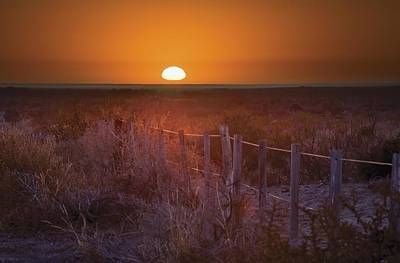 Mendoza Photograph - Sunrise Over The Pampa Of Argentina San by Philippe Widling