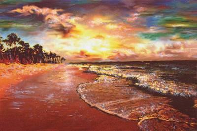 Sunset 3 Print by Eric Sosnowski