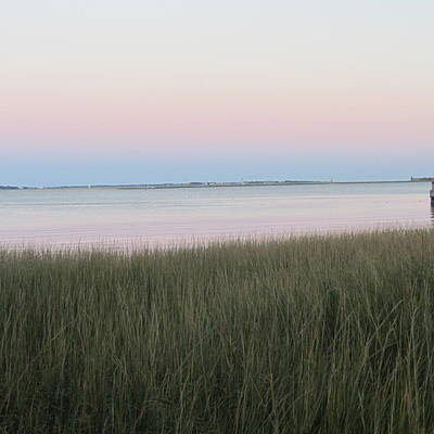 Sunset Photograph - Sunset At Charleston Bay 6 by Cathy Lindsey