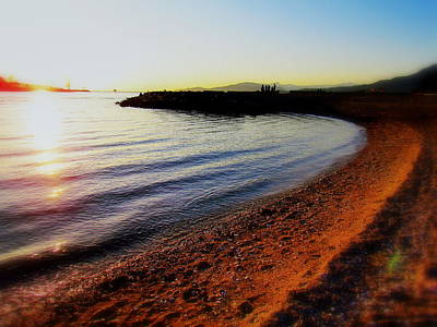 Sunset Photograph - Sunset Beach by Eva Kondzialkiewicz