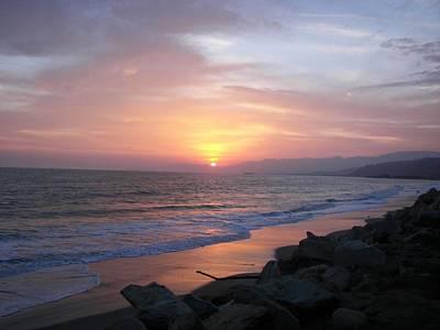 Sunset Original by Frances Mulkey