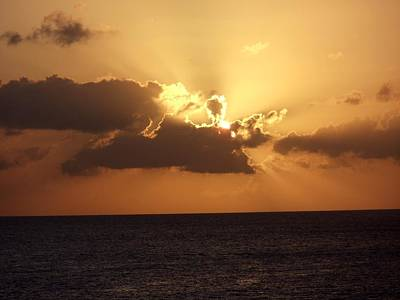 Photograph - Sunset In Cozumel by Riley Geddings