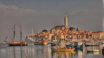 City Landscape Photograph - Sunset In Rovinj by Valerii Tkachenko