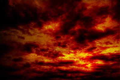 Sunset Print by John Herzog