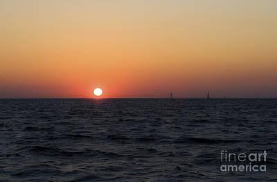 Leda Photograph - Sunset by Leslie Leda