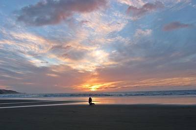 90 Mile Beach Photograph - Sunset On 90 Mile Beach by Judy Watson