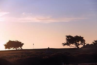 Sunset On Spyglass Print by Gerry Fortuna