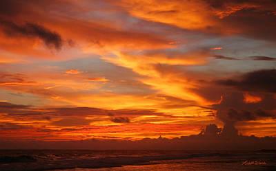 Sunset Playa Hermosa Costa Rica Print by Michelle Wiarda
