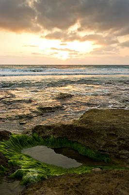 Beach Photograph - Sunset Pool by Nadya Ost