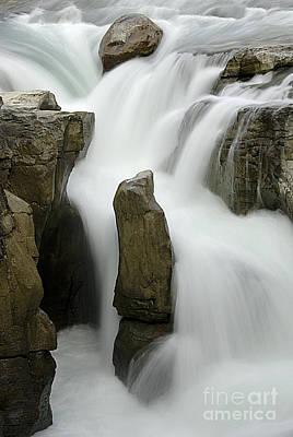 Sunwapta Falls 2 Print by Bob Christopher