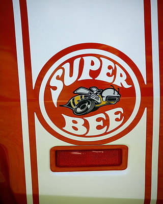 Super Bee Logo Print by Steve McKinzie