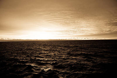 Merchant Mariners Photograph - Superior Sunrise by Tim  Telep