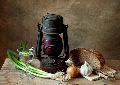 Garlic Photograph - Supper by Nailia Schwarz