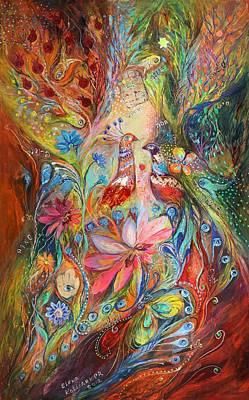 Swarovski Crystal Painting - Supremacy Of Red by Elena Kotliarker
