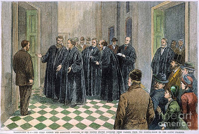 Supreme Court, 1881 Print by Granger