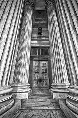 Supreme Court Building 11 Print by Val Black Russian Tourchin