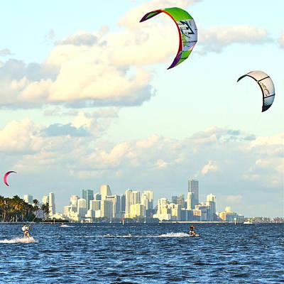 Surfin' Miami Original by Dieter  Lesche