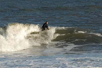 Surfing 377 Print by Joyce StJames