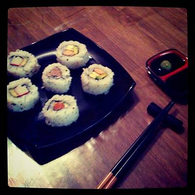 Sushi Print by Pablo Grippo