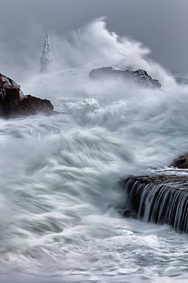 Swallowed By The Sea Print by Evgeni Dinev