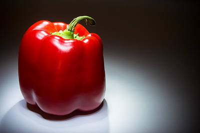 Bellpeppers Photograph - Sweet Red Pepper by Riaan Roux