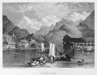 Switzerland: Interlachen Print by Granger