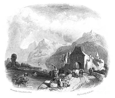 Switzerland: Villeneuve Print by Granger