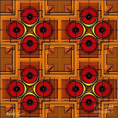 Symmetrica 188 Print by Nedunseralathan R